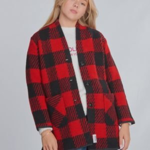 Woolrich Gentry Coat Takki Punainen