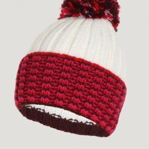 Woolrich Multicolor Pon Pon Hat Hattu Punainen