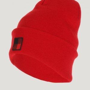 Woolrich Slouchy Beanie Hat Hattu Punainen