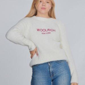 Woolrich Woolrich Crew Neck Neule Valkoinen