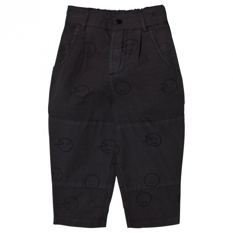 Wynken Charcoal Wink Patch Pants Cargo Housut