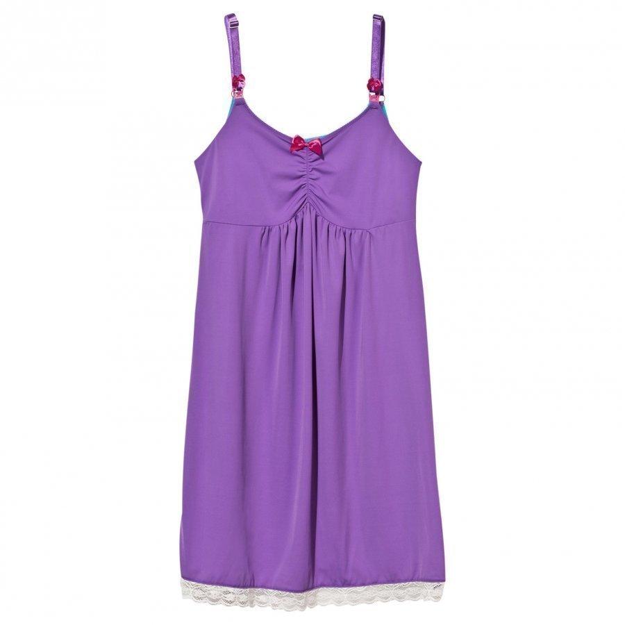 You! Lingerie Plum Velvet Chemise Purple Alushousut Äidille