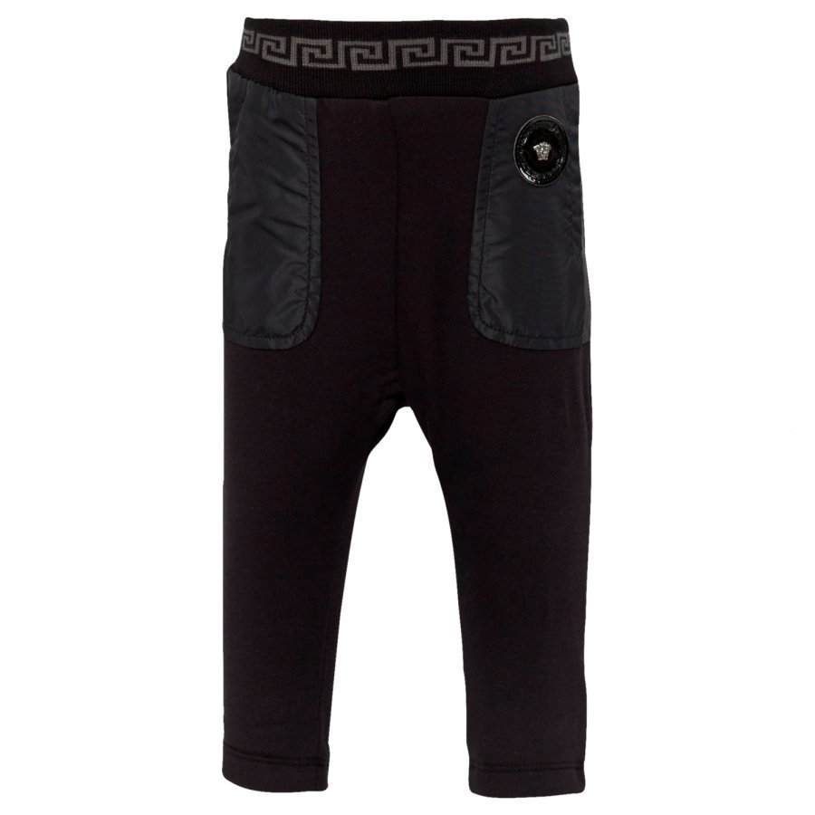 Young Versace Trousers Black Housut