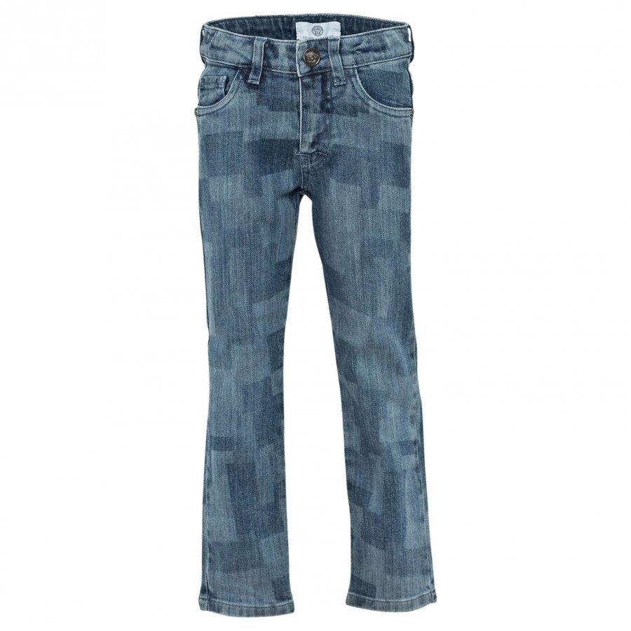 Young Versace Trousers Blue Farkut
