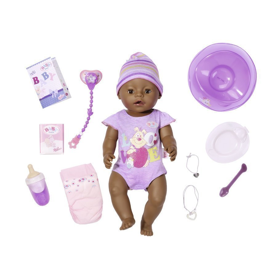 Zapf Creation Baby Born Interactive Ethnic