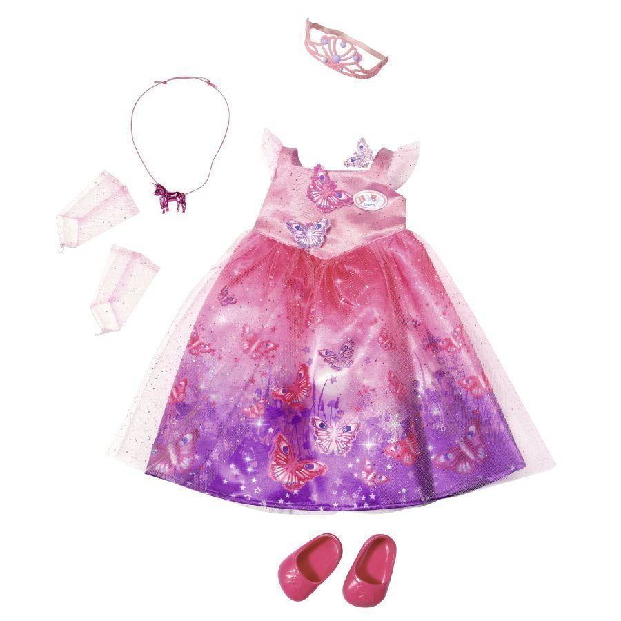 Zapf Creation Nuken Mekko Baby Born Wonderland Deluxe Princess