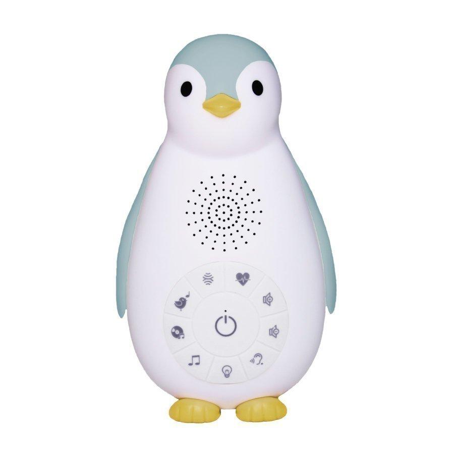 Zazu Zoe Pingviini Bluetooth Musiikkisoitin Ja Yövalo Sininen