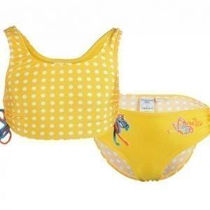 Zunblock Bikini Butterfly UV-uimapuku Keltainen