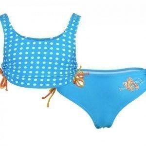 Zunblock Bikini Butterfly UV-uimapuku Sininen / Värikäs