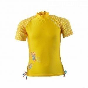 Zunblock Suntop Ss Butterfly UV-uimapuku Keltainen