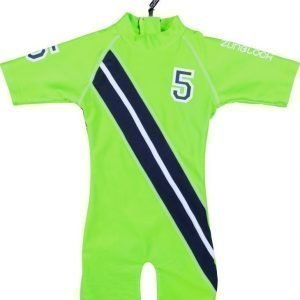 Zunblock UV-puku Stars and stripes Lime