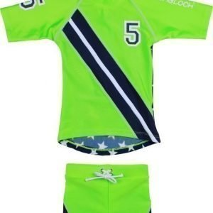 Zunblock UV-setti Stars and stripes Lime