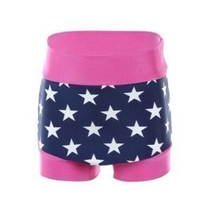 Zunblock Zunblock Zwimmies Stars And Stripes UV-uimahousut Sininen / Roosa