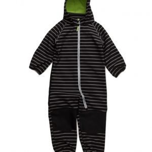 name it Nitalfa M Softsh Suit Stripe Blac Fo 316