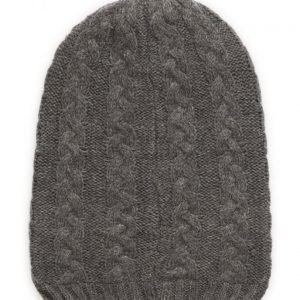name it Nitmeflex K Knit Hat Grey Melan Fo 316